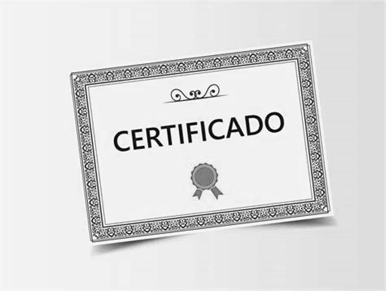 Certificado de Colegiación