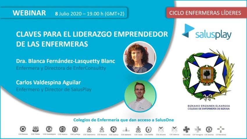 Webinar: CLAVES PARA EL LIDERAZGO EMPRENDEDOR DE LAS ENFERMERAS