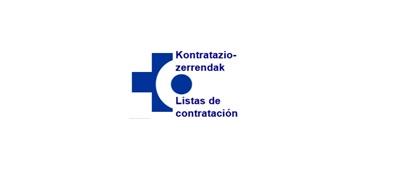 OSAKIDETZA/SVS - LISTAS DE CONTRATACIÓN 2014 Y 2018